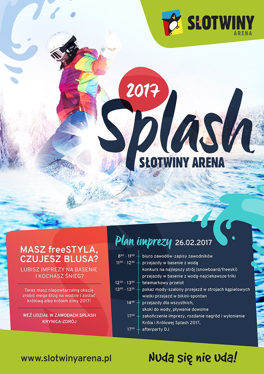 plakat splash